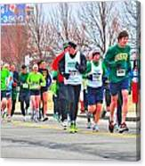 021 Shamrock Run Series Canvas Print