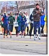 023 Shamrock Run Series Canvas Print
