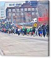 025 Shamrock Run Series Canvas Print