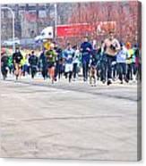 027 Shamrock Run Series Canvas Print