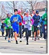 029 Shamrock Run Series Canvas Print
