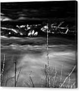 03 Niagara Falls Usa Rapids Series Canvas Print