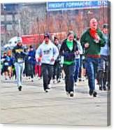 032 Shamrock Run Series Canvas Print