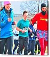 034 Shamrock Run Series Canvas Print