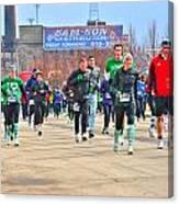 039 Shamrock Run Series Canvas Print