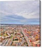 040 Series Of Buffalo Ny Via Birds Eye West Side  Canvas Print