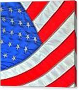 05 American Flag Canvas Print
