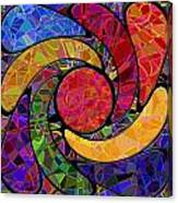 0677 Abstract Thought Canvas Print