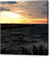 08 Sunset Canvas Print