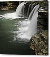 0804-0013 Falling Water Falls 4 Canvas Print
