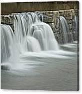 0902-7009 Natural Dam 2 Canvas Print