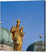 Towers Of Frauenkirche Canvas Print