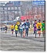01 Shamrock Run Series Canvas Print