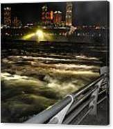 012 Niagara Falls Usa Rapids Series Canvas Print