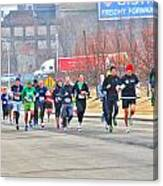 013 Shamrock Run Series Canvas Print