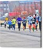 014 Shamrock Run Series Canvas Print