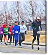 015 Shamrock Run Series Canvas Print