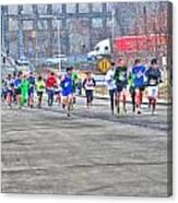 02 Shamrock Run Series Canvas Print