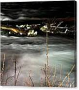 03 Niagara Falls Usa Rapids Series Canvas Print