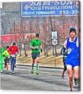 04 Shamrock Run Series Canvas Print