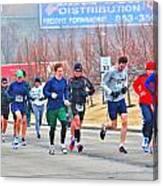 09 Shamrock Run Series Canvas Print