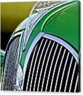 1937 Plymouth Hood Ornament Canvas Print