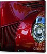 1941 Ford Truck Nose Canvas Print