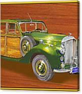 1947 Bentley Shooting Brake Canvas Print