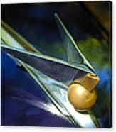 1947 Lincoln Continental Hood Ornament Canvas Print