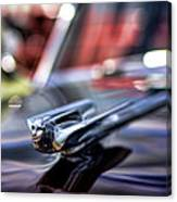 1949 Cadillac Hood Ornament Canvas Print