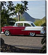 1955 Chevrolet 210 Canvas Print