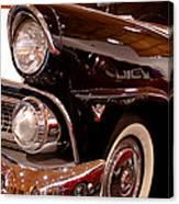 1955 Ford Fairlane Crown Victoria 2-door Hardtop Canvas Print