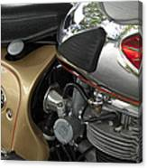 1966 Bsa 650 A-65 Spitfire Lightning Clubman Motorcycle Canvas Print