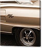 1967 Dodge Coronet Rt Canvas Print