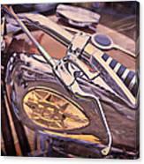 1969 Bsa Js Canvas Print
