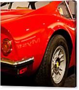 1973 Ferrari Dino 246 Gt Canvas Print