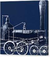 19th Century Locomotive Canvas Print