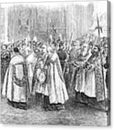 1st Vatican Council, 1869 Canvas Print