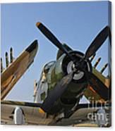 A-1d Skyraider Canvas Print