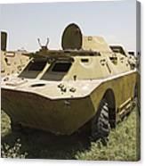 A Brdm-2 Combat Reconnaissancepatrol Canvas Print