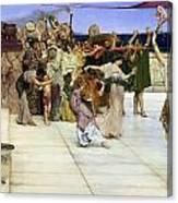 A Dedication To Bacchus Canvas Print