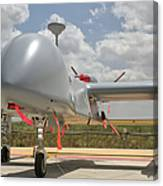 A Heron Tp Unmanned Aerial Vehicle Canvas Print