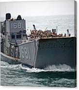 A Landing Craft Utility Transits Canvas Print