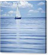 A Sailboat Canvas Print