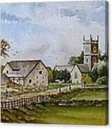 A Sunday Stroll Canvas Print
