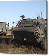 A Tpz Fuchs Armored Personnel Carrier Canvas Print