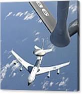 A U.s. Air Force E-3 Sentry Airborne Canvas Print