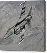 A U.s. Air Force F-16 Fighting Falcon Canvas Print