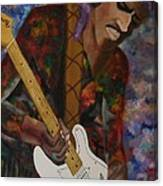 Abstract Jimi Hendrix Canvas Print