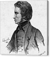 Adam Mickiewicz (1798-1855) Canvas Print